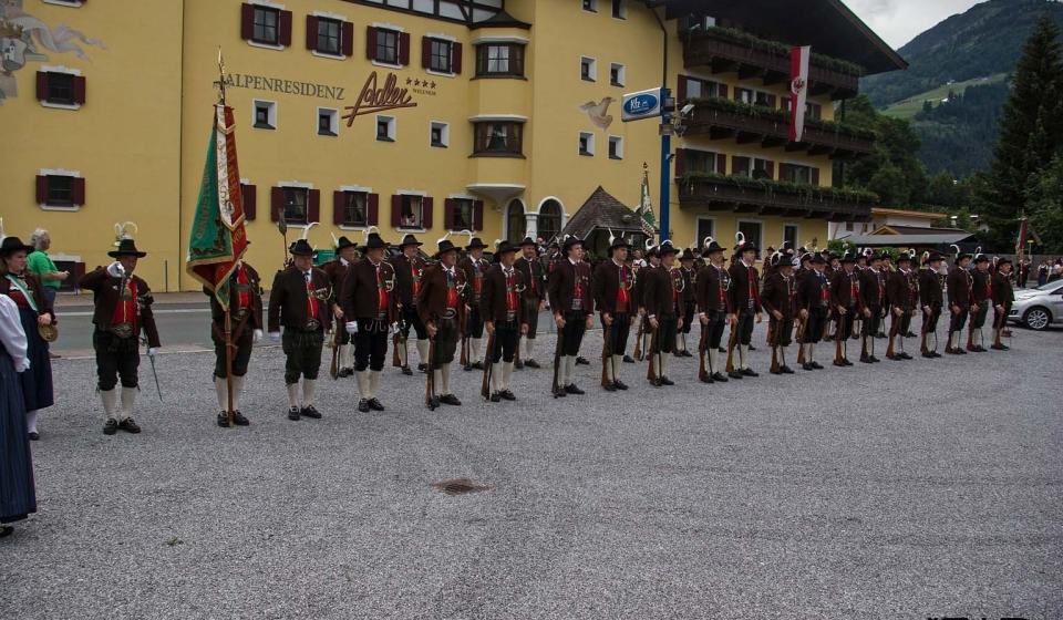 Wintersteller Bataillonsfest in Kirchberg
