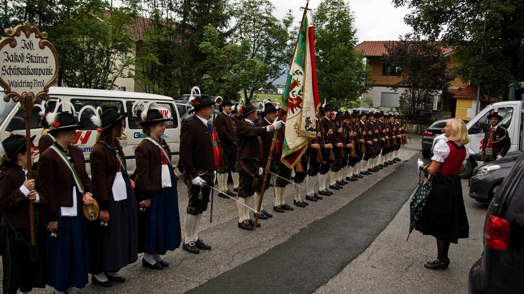 Gründungsfest Ebbs50 Jahre Schützengilde25 Jahre Schützenkompanie