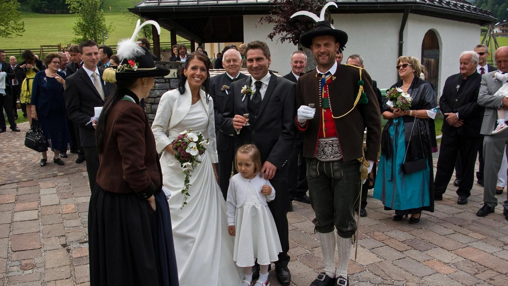 Hochzeit Schreder Hans Peter & Maria