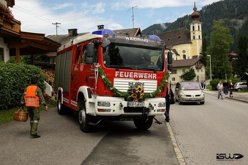 2008-07-20: Feuerwehrfest mit Fahrzeugweihe
