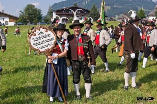 2013-07-21: Bataillonsfest Kirchdorf i. T.