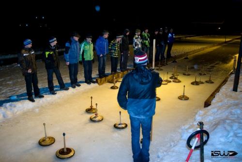 2013-02-01: Eisstockschießen
